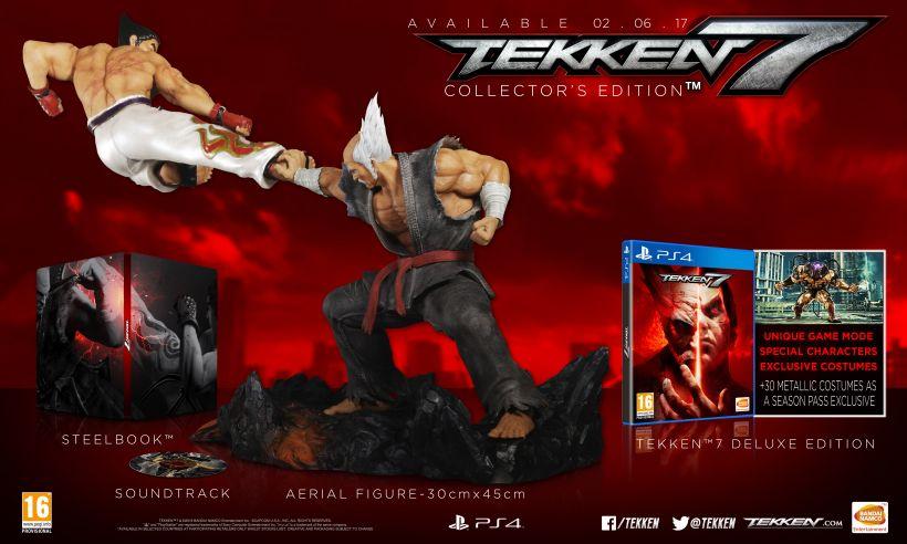 Sélection de Jeux/Goodies en promotion - Ex : Jeu Tekken sur PS4 - Edition collector avec figurine (Bandai Namco)