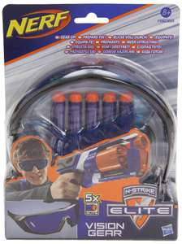 Lunettes Nerf Elite Vision Gear + 5 fléchettes
