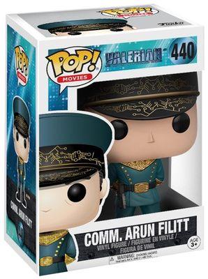 Figurine Funko Pop! Valerian  - Commander Arun Filitt