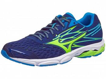 Chaussures Running Mizuno Wave Catalyst 2 Bleu Blueprint/Vert/Bleu