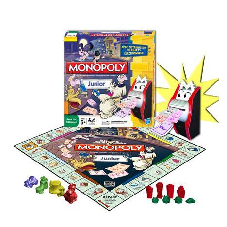 Grand déstockage sur une sélection de jouets, jeux de société, etc - Ex: Monopoly Junior électronique