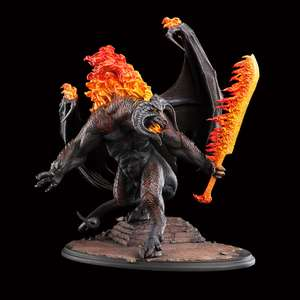 Statuette Weta The Balrog Demon of shadow and flame
