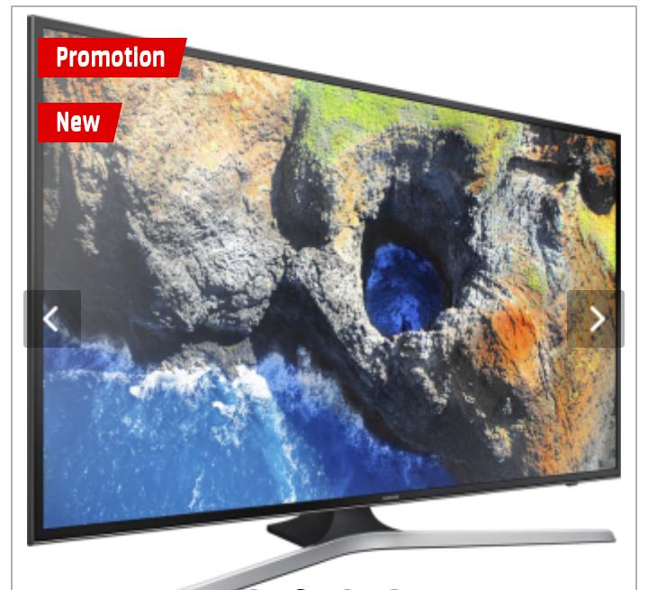 """TV 65"""" Samsung UE65MU6190U - UHD 4K (Frontaliers Suisse)"""