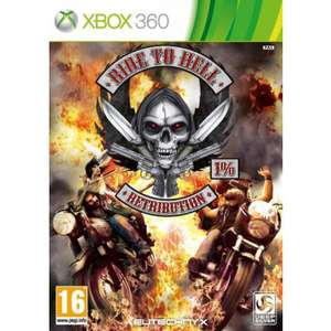 Ride to hell sur Xbox 360