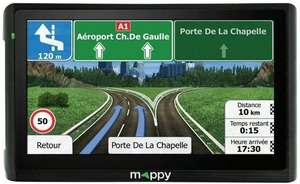"GPS 6"" Mappy Maxi 611 Europe 14 pays"