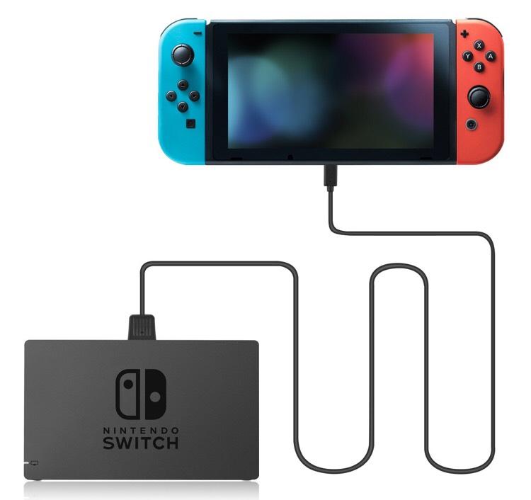 Câble de connexion Nintendo Switch vers dock - Younik USB 3.1 Type C (vendeur tiers)