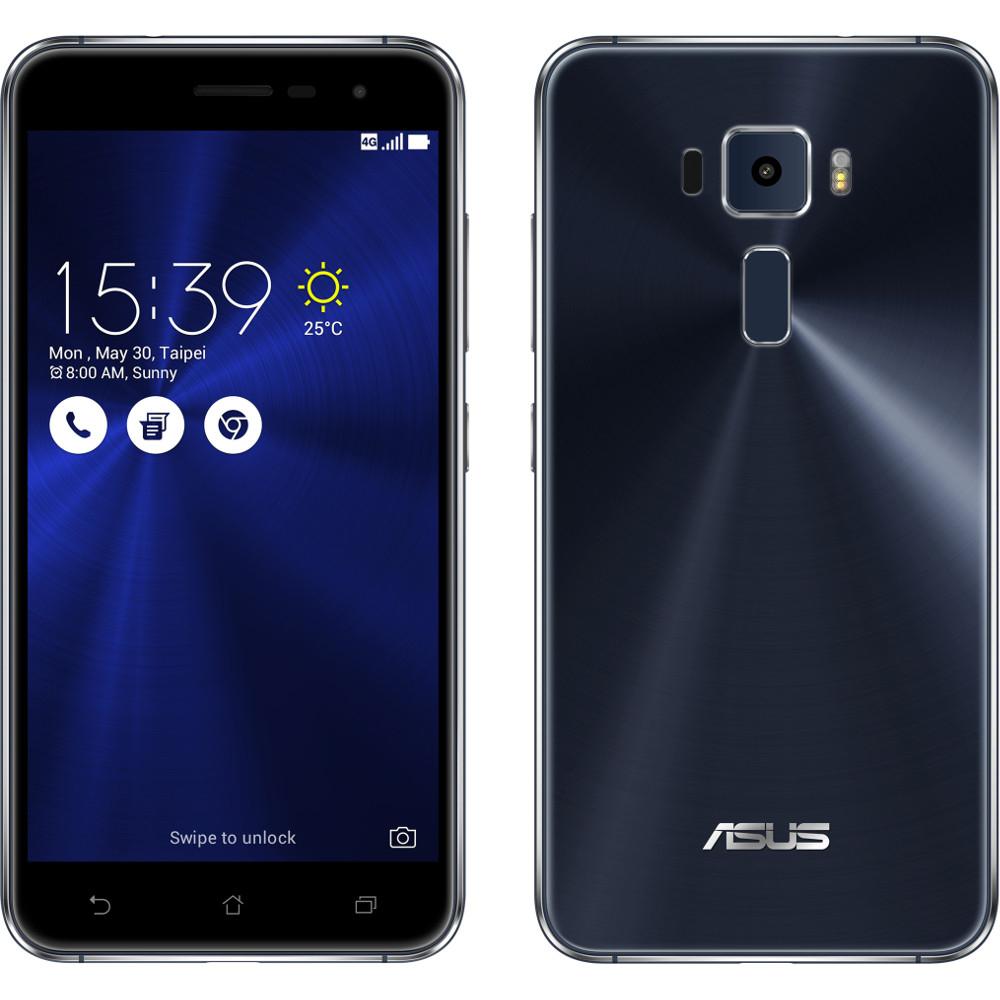 """Smartphone 5.5"""" Asus Zenfone 3 ZE552KL - Full HD, Snapdragon 625, RAM 4 Go, ROM 64 Go (Bleu Nuit)"""