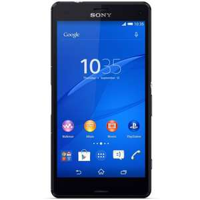 "Smartphone 4.6"" Sony Xperia Z3 Compact 16 Go - Noir"