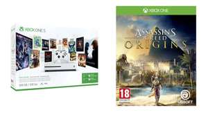 Sélection de packs Xbox One en promotion - Ex : Console Microsoft Xbox One S 500 Go + Game Pass 3 Mois + Live Gold 3 Mois + Assassin's Creed Origins