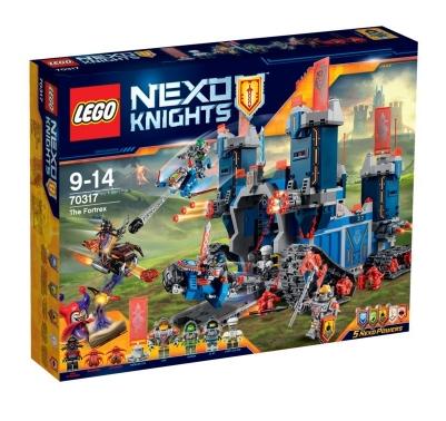 50% de réduction sur une sélection de jouets Lego Nexo Knights - Ex : Jouet Lego Nexo Knights -  Le Fortrex 70317