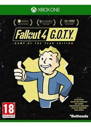 Fallout 4 GOTY sur PS4 (en Anglais) ou Xbox One