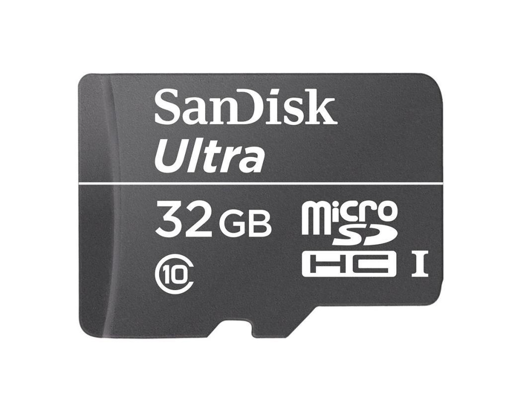 Carte mémoire SDHC SanDisk Ultra 32 Go Classe 10 UHS-I