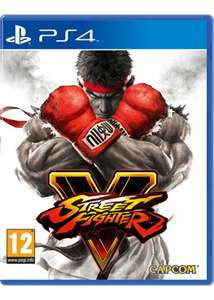 Street Fighter 5 sur PS4