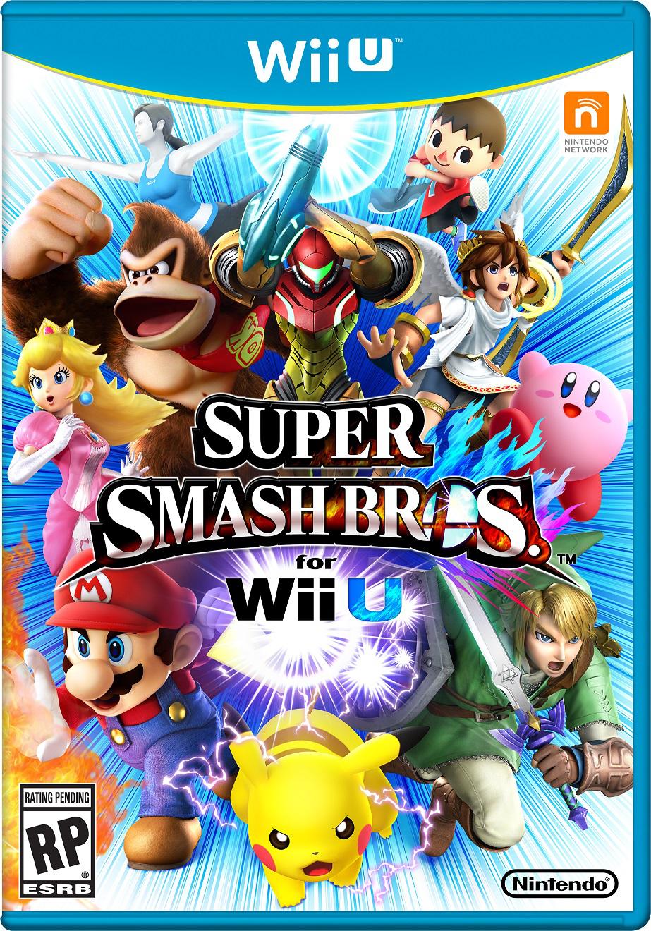 Super Smash Bros Wii U (avec 20€ sur la carte)