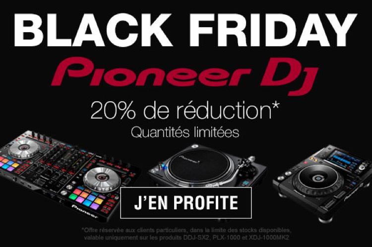 -20% sur une sélection d'articles Pioneer DJ