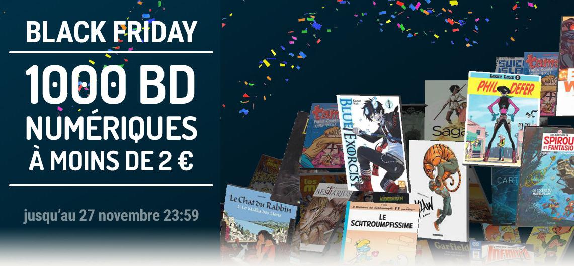 1000 BD numériques à moins de 2€