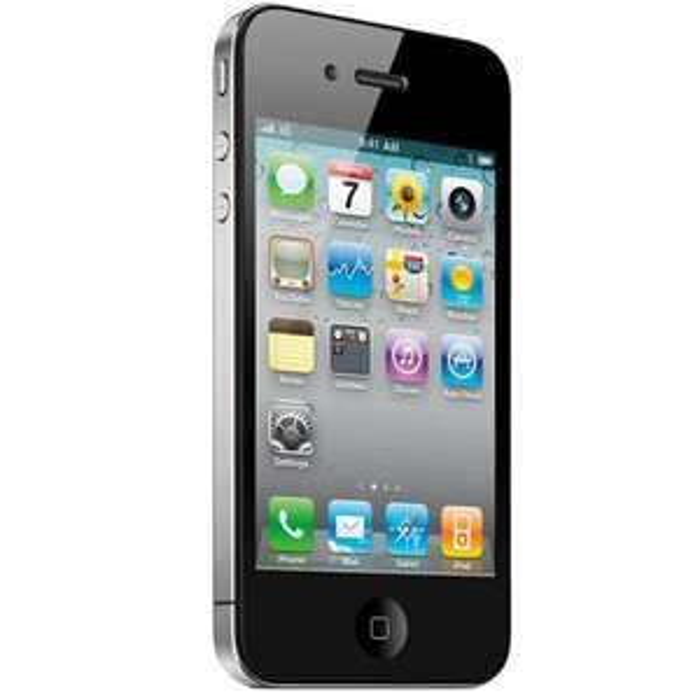 Smarpthone Iphone 4S Noir - 16 go - Occasion