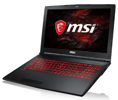 "PC Portable 15.6"" MSI GL62M 7REX-2056XFR - Full HD, i5-7300HQ, 8 Go de Ram, 1To, GeForce GTX 1050 Ti, Sans OS"