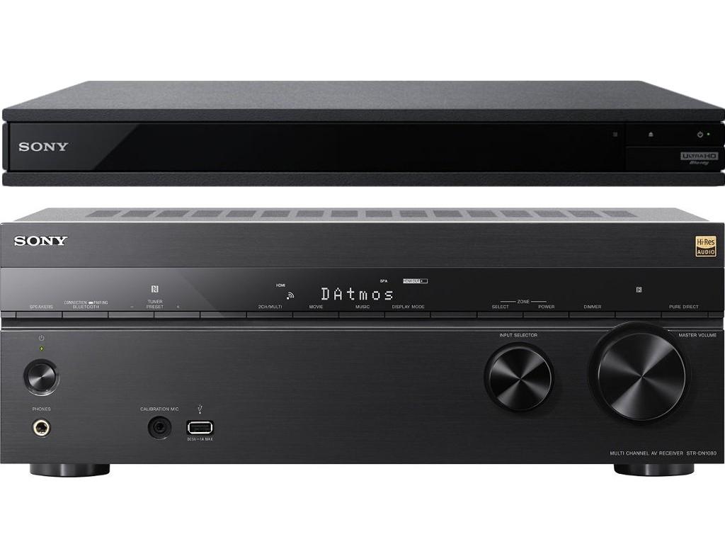 Ampli home cinéma Sony STR-DN1080 + Lecteur blu-ray 4K UBP-X800