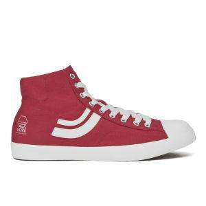 Baskets Jack & Jones Camden Hi Top Trainers hommes Rouge