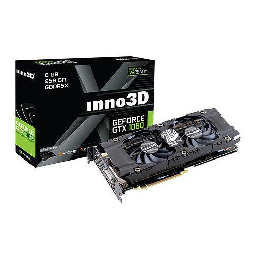 Carte graphique inno3D GeForce GTX 1080 TWIN X2 8 Go DDR5  + Destiny 2 (dématérialisé)