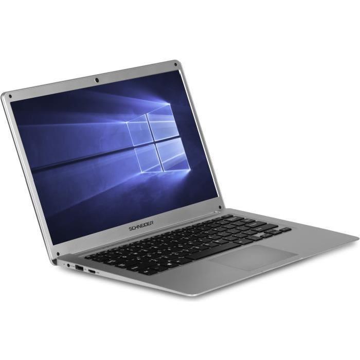 """PC Portable 14,1"""" Schneider SCL141CTP - Atom x5-Z8350, 2Go ram, 32 Go eMMC"""