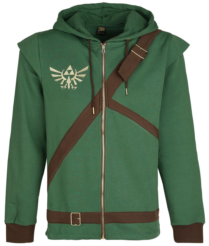 Sélection de produits en promotion - Ex : sweat-shirt zippé à capuche The Legend of Zelda (du XS au XXXL)