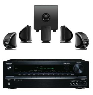 Ampli Home-cinéma Onkyo TXNR535 + Pack enceinte Home-cinéma Focal Sib & Cub3 5.1