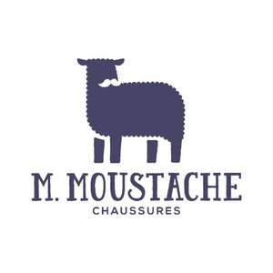 30% de réduction sur toute la collection M. Moustache