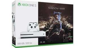 Différents pack en promo - Ex : Console Xbox One S 500Go Middle-earth: Shadow of War