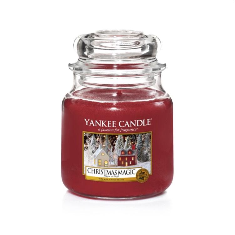 50% de réduction sur toutes les bougies Yankee Candle