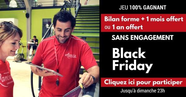 Bilan forme + 1 mois de Sport gratuit en salles Elancia (sans engagement)