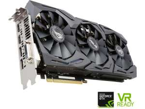 Carte graphique Asus GeForce GTX 1080 ROG STRIX-GTX1080-A8G-GAMING (frontaliers Allemagne)