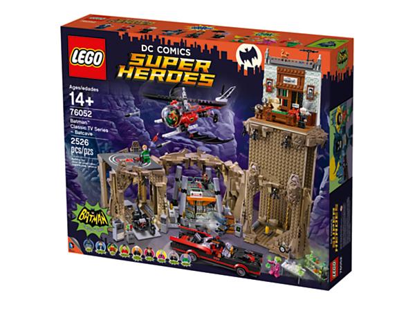 Jouet Lego La Batcave Série TV classique Batman  + casse noisette offert