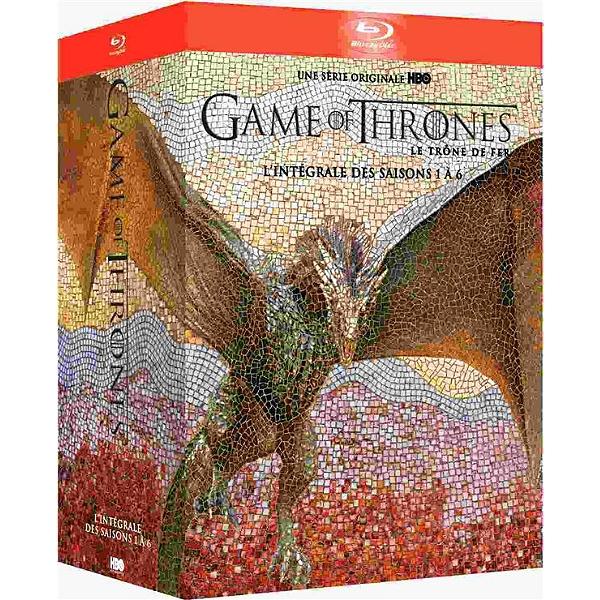 Sélection de coffrets en promotion - Ex: Coffret Blu-ray Game of Thrones - L'intégrale des Saisons 1 à 6