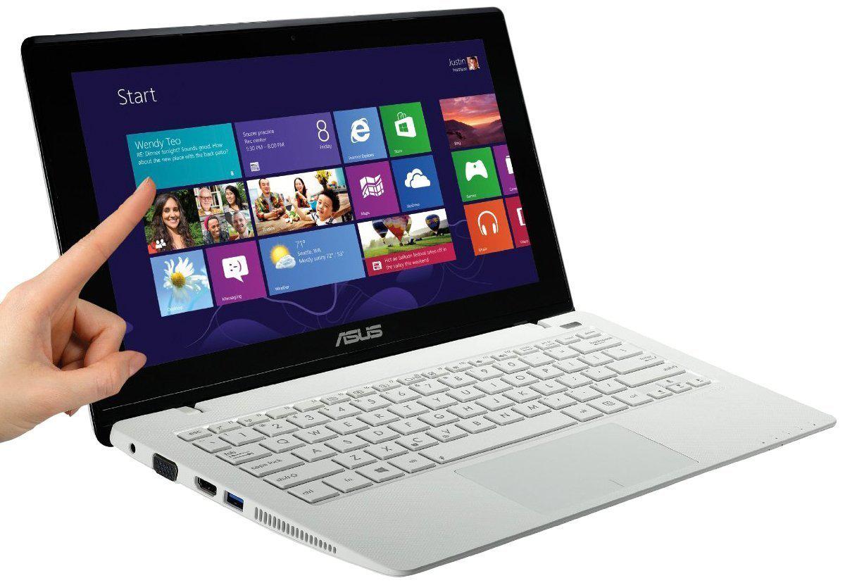 "PC portable tactile 10.1"" Asus X102BA-DF028H Blanc"