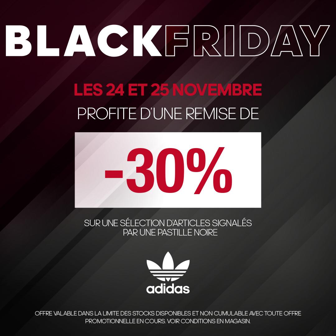 adidas : toutes les promos 2018 Noir Friday 2018 promos c0dab6