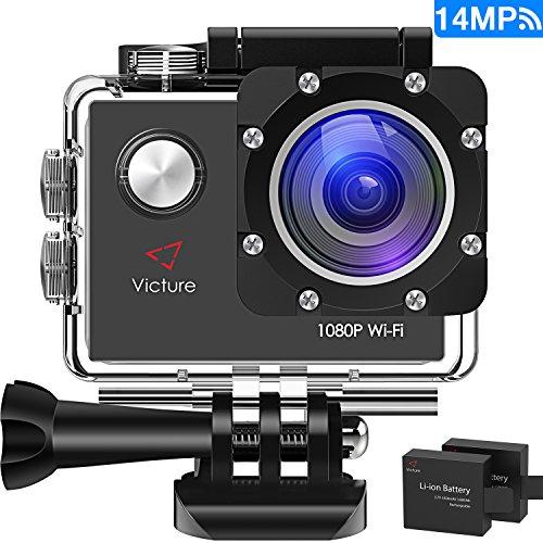 Caméra Victure Wifi Sport Embarquée Full HD 14M 1080P (vendeur tiers)