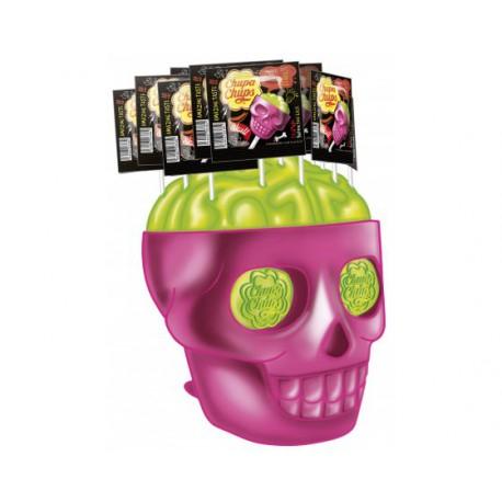 Présentoir Collector Chupa Chups Skull + 150 sucettes
