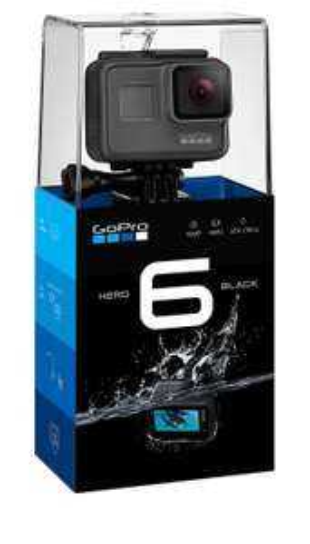 Caméra GoPro Hero 6 Noir
