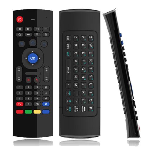 Télécommande Gyroscopique clavier qwerty