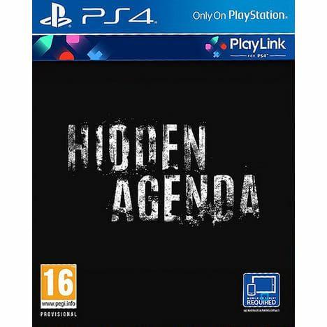 Jeu Hidden Agenda sur PS4