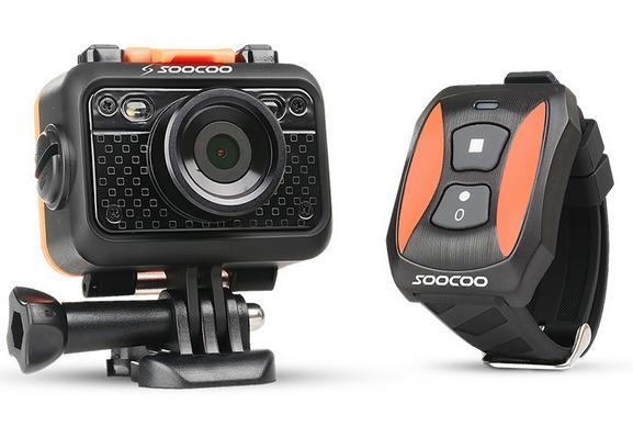 Caméra Sportive SooCoo S60 avec tous les accessoires