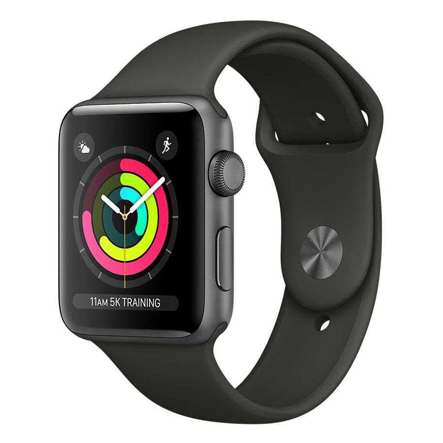 Montre connectée Apple Watch Series 3 boîtier 38 mm aluminium (avec ODR de 50€)