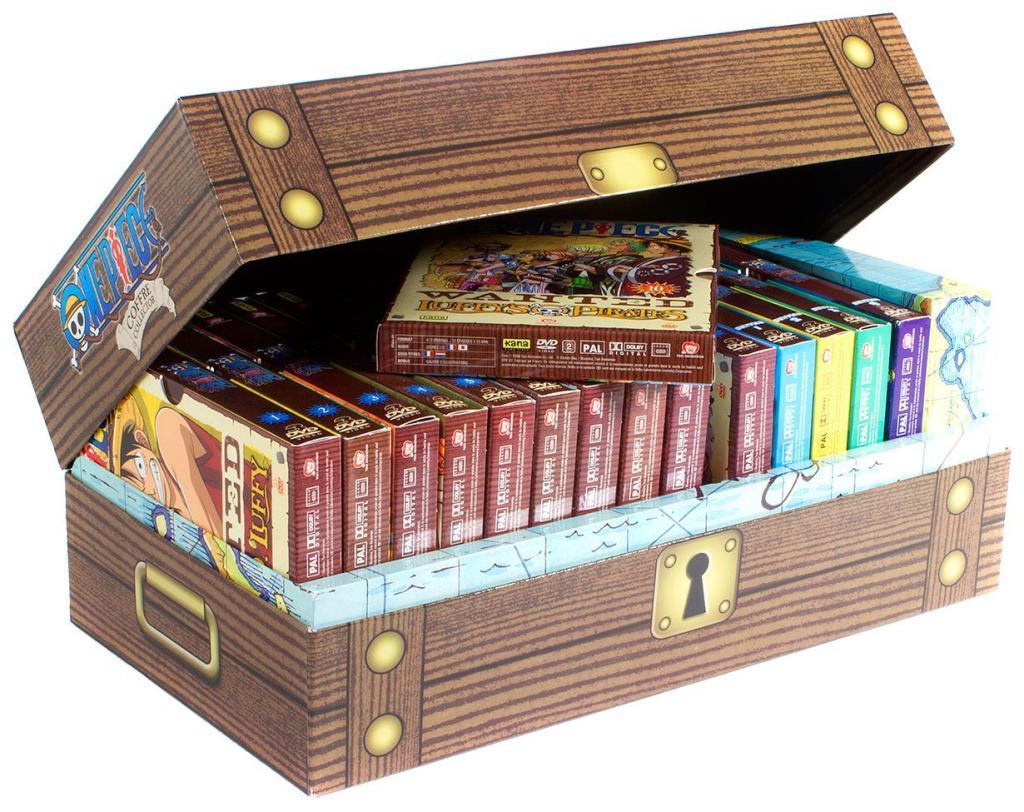 15 Coffrets DVD - One Piece - Intégrale Arc 1 à 3 (East Blue, Baroque Works, Skypiea) - Édition Limitée
