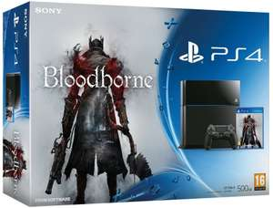 Console Sony PS4 + Bloodborne