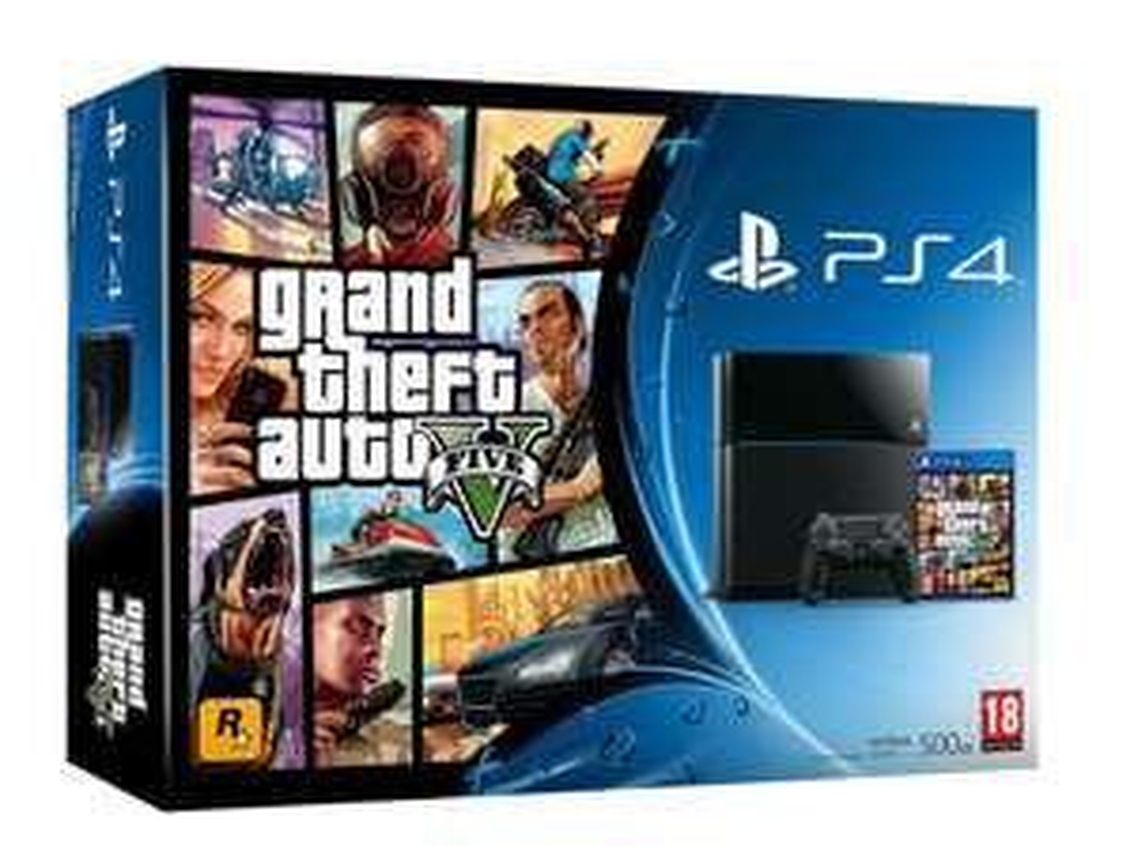 Pack Console  PS4 (The Order ou GTA V) + 1 jeu offert