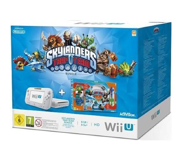 Pack Console Wii U blanche 8Go + Jeu Skylanders (30€ sur Carte Fidélité)