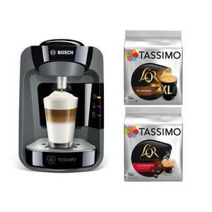 Machine à café Bosch Tassimo Suny TAS3702 - All Black Edition + 2 packs de T-Discs