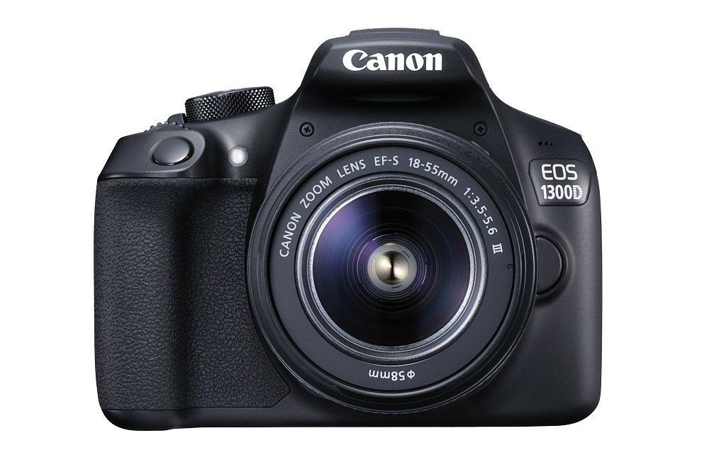 Kit Appareil photo Reflex Canon EOS 1300D + Objectif EF-S DC III 18-55 mm